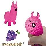 UvaQuetsch ® Quetsch Lama Rosa +++ inkl. Geschenkbox +++ 2019 +++ Quetsch Figur Stressball Knetball Quetschi