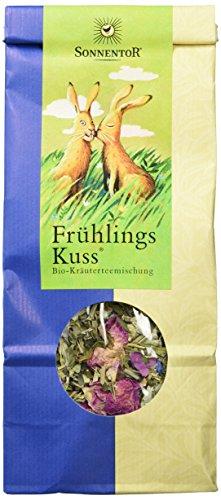 Sonnentor FrühlingsKuss-Kräutertee lose, 1er Pack (1 x 80 g) - Bio