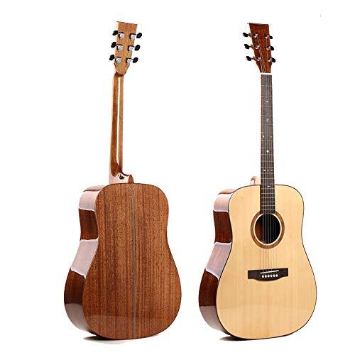 North King Gitarre akustische Ballade D-Typ 41-Zoll Gitarre hochwertige handgefertigte Fichte Furnier Mahagoni Erwachsene Musikinstrumente