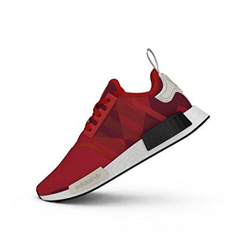 Adidas Originals NMD_r1 W PK Tenis para Correr para Mujer, Negro, Rojo (Red Camo Graphic S79164), 10.5 M…