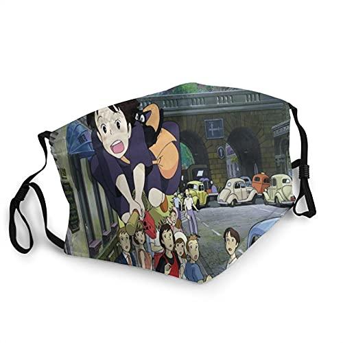 Ac Dc Máscara de borde negro para adultos,Protección facial portátil,Bandana,Borde elástico,Pasamontañas