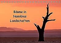Baeume in Namibias Landschaften (Tischkalender 2022 DIN A5 quer): Der Baum in verschiedenen Landschaften Namibias. (Monatskalender, 14 Seiten )