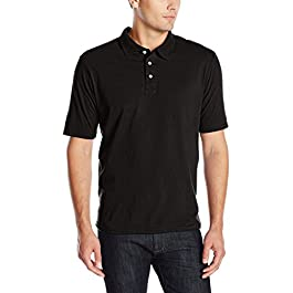 Hanes Men's X-Temp Performance Polo Shirt (1 Pack or 2...