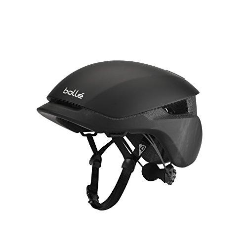 Bollé Unisex-Adult Messenger Fahrradhelm, Black Wash Matte, M