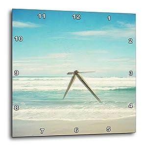 410XRXK3FdL._SS300_ Coastal Wall Clocks & Beach Wall Clocks