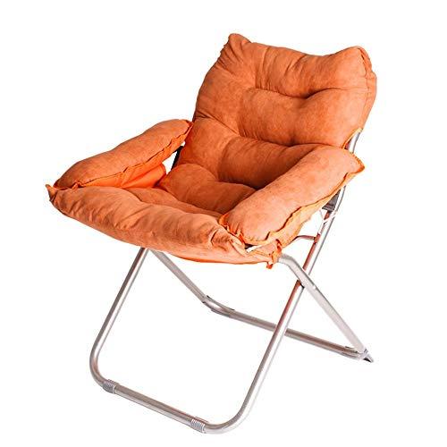 QTQZHH Klapp Computer Stuhl Sofa Stuhl Mode faul Sofa Matratze Stühle können Liegen Freizeit Home Rückenlehne Schlitten faul Sofa (eine Vielzahl von Farben optional) (Farbe: # 9)