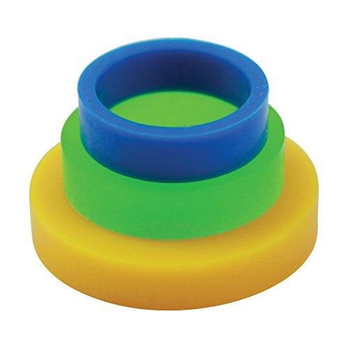 PME PPR02 Anelli Guida, Silicone, Colorati
