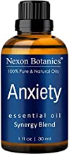 Anxiety Essential Oil Blend 30 ml - Stress Away, Stress Relief Essential Oil - Relaxation, Calming Essential Oils - Can be Used for Aromatherapy and Diffuser from Nexon Botanics