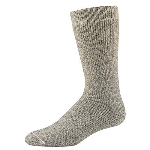Wigwam Men's The Ice Sock, Gray Twist, Medium