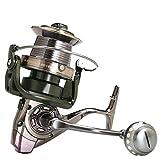 Yangyang Carretes de Pesca, Spinning Carrete de Metal para Pesca Spinning, Series 9000-12000 Carrete de Baitcasting Alta Velocidad Carrete de Pesca Carrete de Pesca Ligero,9000