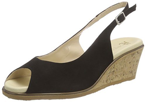 Hans Herrmann Collection Damen HHC Clogs, Schwarz (nero-10), 39 EU