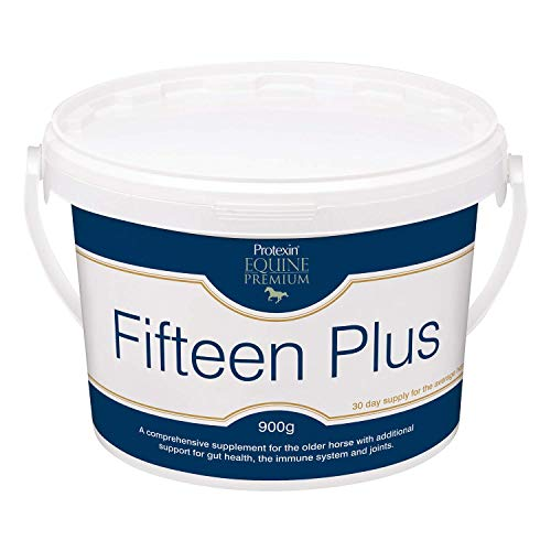 Protexin Equine Premium Fifteen Plus 900g - Supplement for Older Horses, For Gut, Immune, and Joint Support