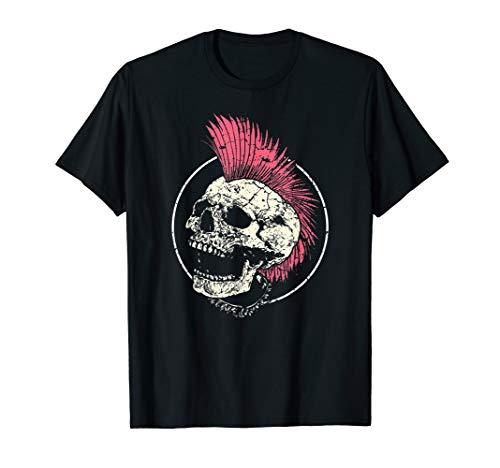 Punk Musik Retro Punker Rock Konzert Geschenk T-Shirt