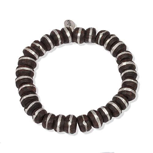 Anisch de la Cara Damen Armband Ebony Silver -Tuareg Armband Tuareg - ArtNr. 4470-a