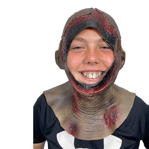 Máscara de capucha para adolescentes, Jason, Halloween, Crystal Lake Killer, cara...