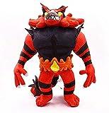 Mdcgok LWH-MOU Hot Cartoon Litten Torracat Incineroar Bambole di Peluche ripiene Giocattoli Anime Pokemones Giocattoli di Peluche Regali per...