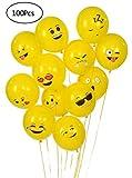 YueChen  Emoji Globos, Color Partido Globos de Fiesta para la Fiesta de Cumpleaños de la Boda , Látex Globos
