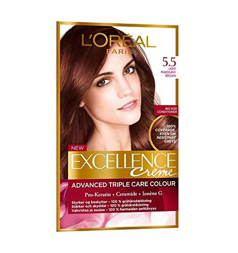 L'Oreal Paris Excellence Creme Tinte Permanente Tono 5.5 Caoba Claro