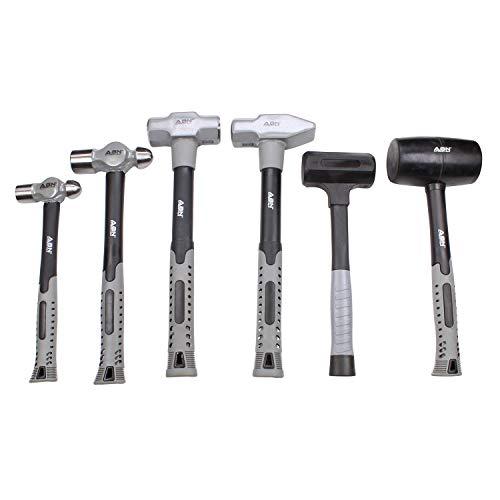 ABN 6 Piece Hammer Set - Forging Hammer Tool Set,...