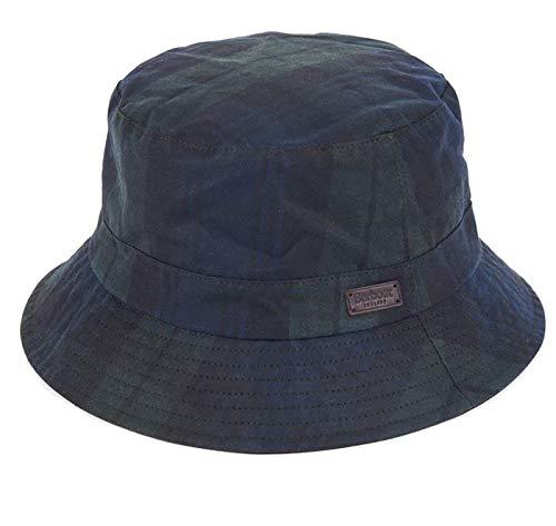 Barbour Darwen Wax Sports Hat Black Watch Tartan-M