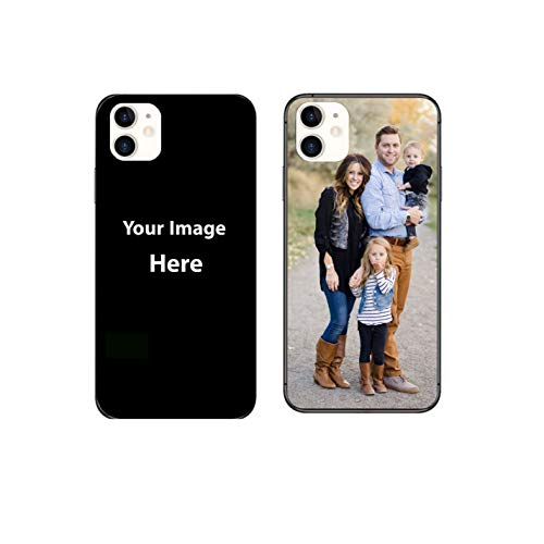Custom Case for Apple iPhone 11 (6.1inch) Personalized Custom Picture Phone Case Customizable Slim Soft and Hard tire Shockproof Protective Anti-Scratch Phone Cover Case- Make Your Own Phone Case