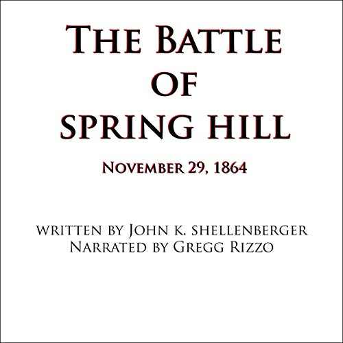 The Battle of Spring Hill, Tennessee Titelbild