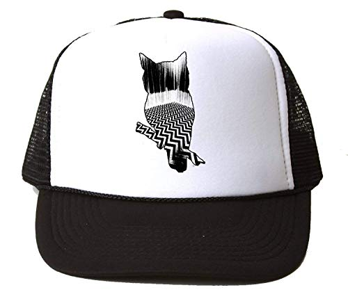 KRISSY Twin Peaks TV Show Series Owl Red Room Baseball Cap Unisex Mütze Kappe One Size