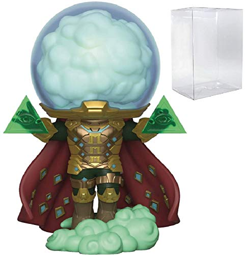 Marvel: Spider-Man Far from Home - Mysterio Funko Pop! Vinyl Figure (Includes Compatible Pop Box Protector Case)