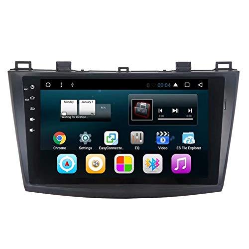 TOPNAVI 16GB ROM Android 7.1 Centre Multimédia pour Mazda3 Star Cheng 2011 2012 2013 2014 2015 2016 Voiture Radio Stéréo Navigation GPS pour 32GB ROM WiFi 3G RDS Lien Miroir