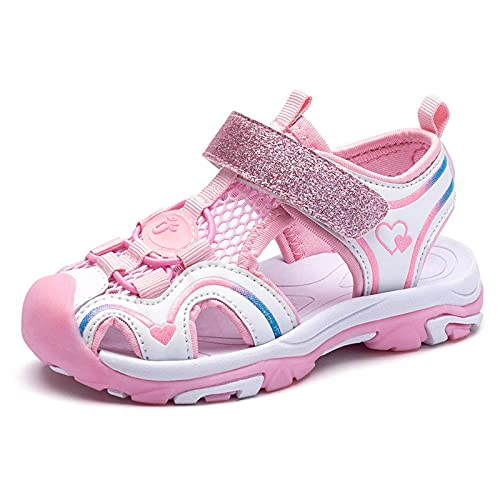 Sandalias dulces para niñas al aire libre senderismo deportes respirables viaje verano agua zapatos