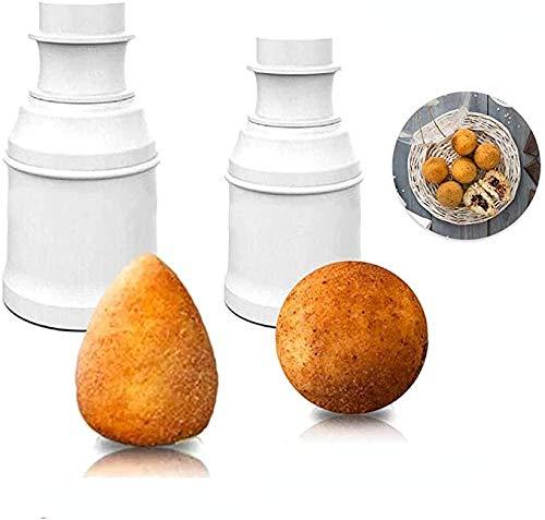 Stampo per palla di riso fai da te multifunzionale per il pranzo, stampo per sushi fai da te fatto a mano palla di riso riutilizzabile macchina per polpette fatte in casa