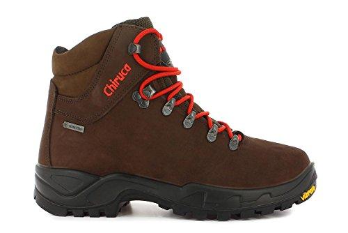 Chiruca Cares, Zapatos de Trekking Hombre, Marrón, 43 EU