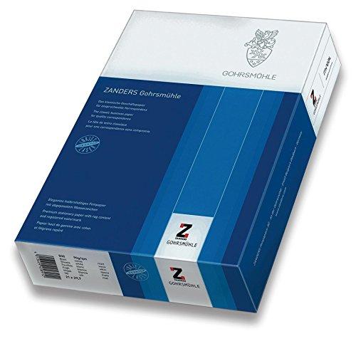 Zanders 88020104 Büropapiere in Kleinpackungen Schreibmaschinenpapier A4 90g 500 Blatt