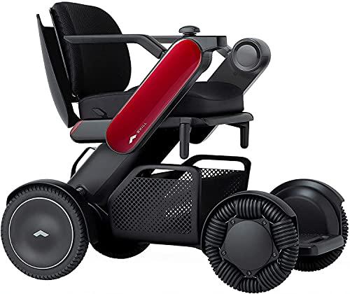"""Whill Modelo Ci2 Silla eléctrica portátil (rojo, asiento ancho de 20"""") ✅"""