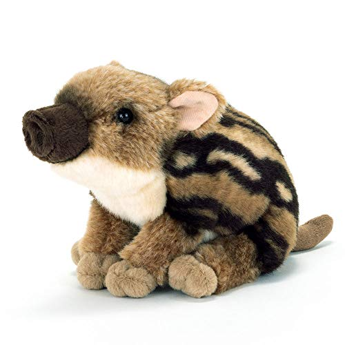 カロラータ ニホンイノシシ 赤ちゃん ぬいぐるみ 動物 (リアルアニマルベイビー) 11cm×13.5cm×18cm