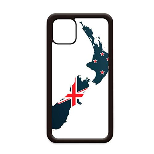 The Flag Island Country Map Nieuw-Zeeland voor Apple iPhone 11 Pro Max Cover Apple mobiele telefoonhoesje Shell, for iPhone11 Pro