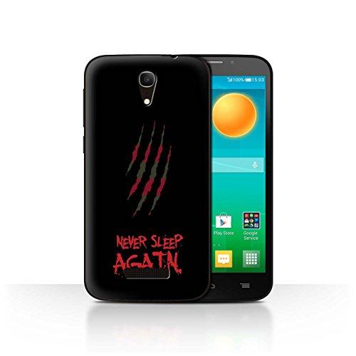 eSwish hard case voor Alcatel Pop S7, motief: Horror Film Art - Freddy Krueger geïnspireerde kunst