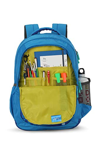 Skybags 30 Ltrs Blue Casual Backpack (BPSTR2HBLK)