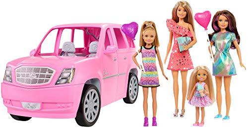 Barbie Accesorios Para Muñeca Limosina De Hermanas Apto Para +3 Años