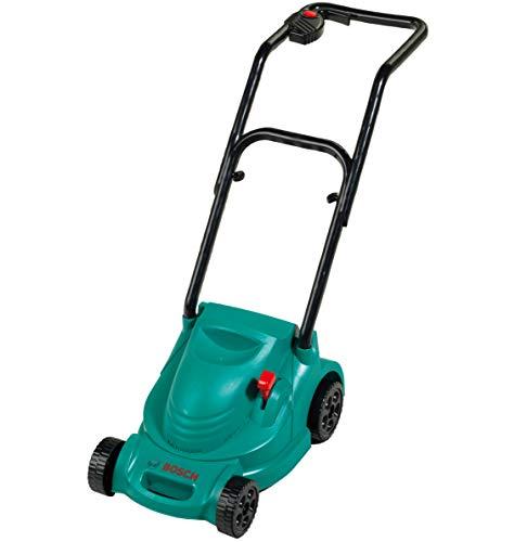 Theo Klein 2702 Bosch Rotak Rasenmäher I Mit Knattergeräusch beim Fahren I Maße: 66 cm x 25 cm x 49 cm I Spielzeug für Kinder ab 18 Monaten