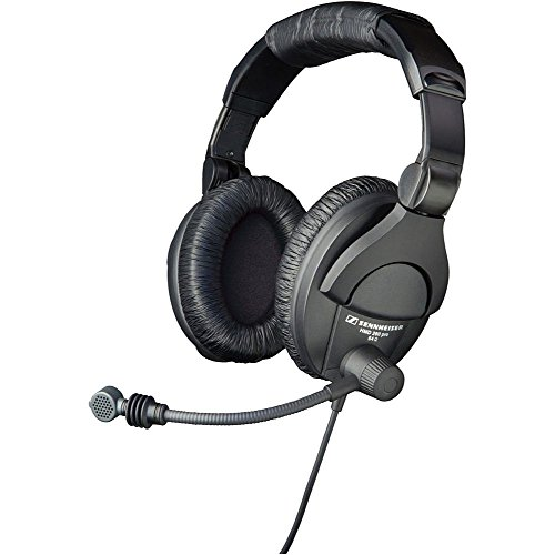 Sennheiser HMD280-XQ Dual-Sided Closed-Back Dynamic Headset with Supercardioid Boom Microphone