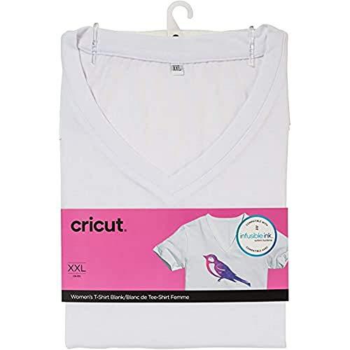 Cricut® Damen-T-Shirt-Rohling, V-Ausschnitt