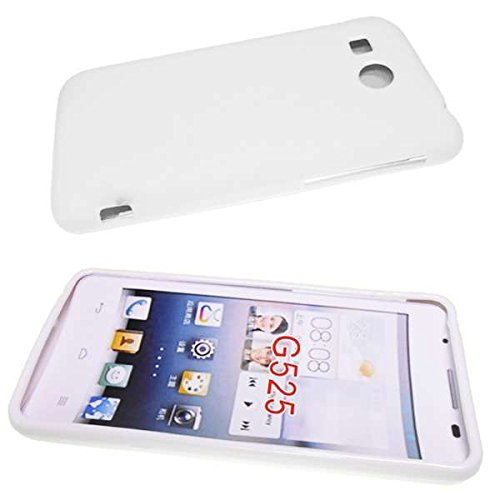 caseroxx TPU-Hülle für Huawei Ascend G525, Handy Hülle Tasche (TPU-Hülle in weiß)