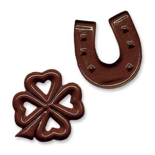 Hufeisen und Kleeblätter, Schokolade