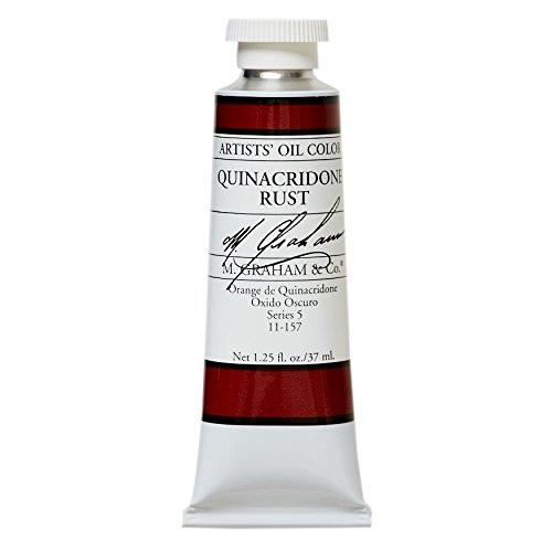 M. Graham & Co. Oil Paint, Quinacridone Rust
