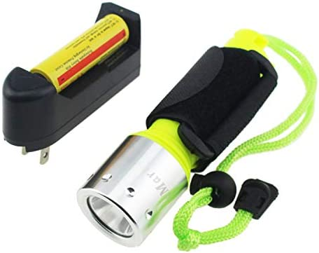 Tipmant Cree Xm L T6 1600 Lumens LED Diving Flashlight Underwater Scuba Waterproof Torch Submarine product image