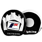 Fighting Sports Tri-Tech Elite Punch Mitts, Black/White