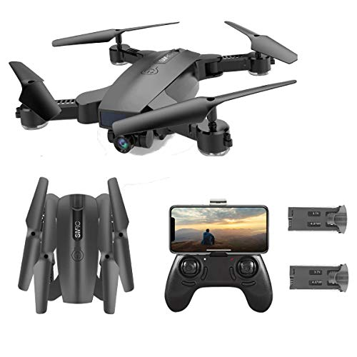 SGOTA RC Drone with Dual 720P HD 2mp Cameras Foldable FPV WiFi RC Quadcopter 2.4Ghz...