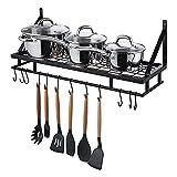 Amazon Brand - Umi Rejilla Para Ollas Organizador de Almacenamiento de Cocina...