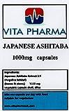 ASHITABA japonesa 1000 mg, 60 cápsulas, 2 meses de suministro, por Vita Pharma, fabricado aquí en el Reino Unido, toma una al día, vegetariana, pide ahora para envío rápido